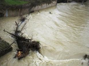 River breaks banks, 1,000 evacuated amid foul weather (3)