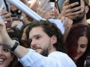 GOT speaks to today's anxiety Harington tells Giffoni
