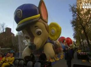New York si prepara alla Macy's Thanksgiving Parade