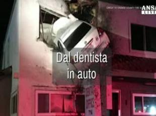 Dal dentista in auto