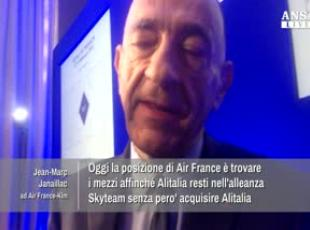 Alitalia: Air France, studiamo opzioni perche' resti in Skyteam